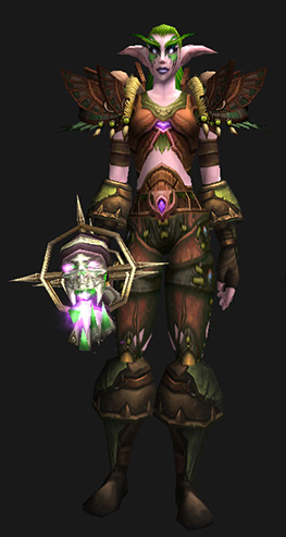 Leather Transmog - Veil of Turning Leaves