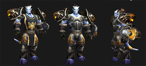 "Plate Transmog - ""White Tiger"" for Paladins"