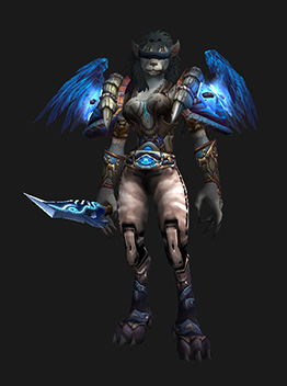 Cursed Vision of Sargeras - Female Worgen