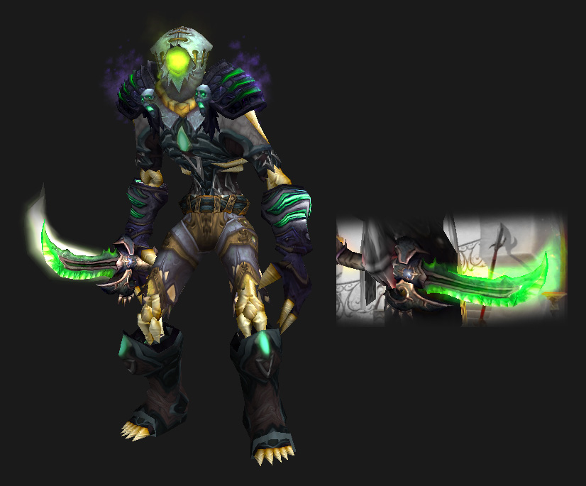 Leather Transmog - Discarded Bag of Entrails (Undead)