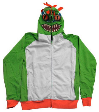 Murloc Hoodie - Don't look. It may take on other forms.