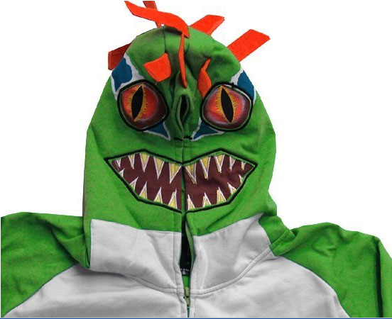 Murloc Hoodie - a.k.a., the abomination that will haunt your dreams for weeks to come.
