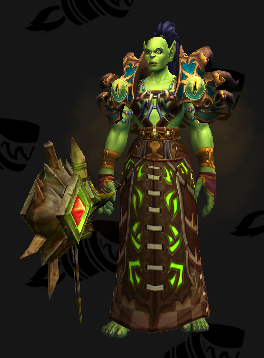 Cloth Transmog - Witch Doctors Beads - Orc