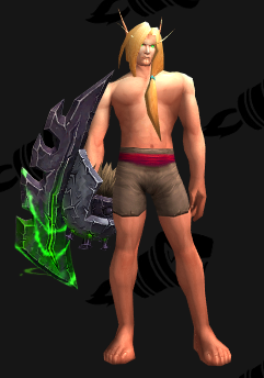 Weapon Transmog - Highmaul - The Bladefist - Fist Weapon